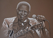 Holdorf Framed Prints - BB King Framed Print by Kurt Holdorf