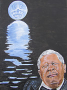 Bb King Painting Print by Jeepee Aero