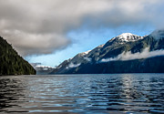 Seacapes Prints - BC Inside Passage Print by Robert Bales