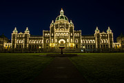 John Daly - BC Legislature Blue Hour