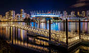 Vancouver Framed Prints - BC Place Framed Print by Alexis Birkill