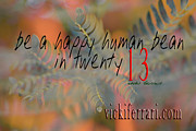 Vicki Ferrari - Be A Happy Human Bean In...