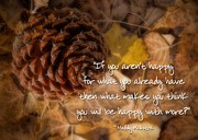 Words Background Photos - Be Happy by Peggy J Hughes