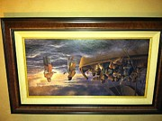 Christian Artwork Painting Originals - Be not afraid by James seward