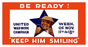 War Is Hell Store - Be Ready Keep Him Smiling