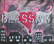 Help Others Framed Prints - Be the Blessing Framed Print by Debbie Hornsby