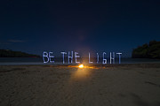 Impossible Prints - Be the Light Print by Moon Scribe
