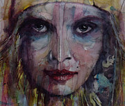 Lips  Painting Prints - Be Young Be Foolish Be Happy Print by Paul Lovering