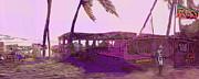 Ian  MacDonald - Beach Bar in Violet