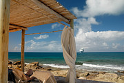 Hut Photos - Beach Cabana  by Amy Cicconi