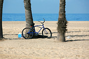 Bicycle Photos - Beach Day by Art Block Collections