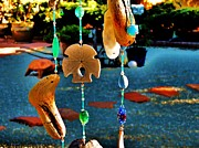 Wind Chimes Photos - Beach Dreams by Helen Carson