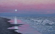 Kathleen McDermott - Beach Dusk - Full Moon...