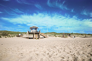 Sea Watch Prints - Beach Guard - Sylt Print by Hannes Cmarits