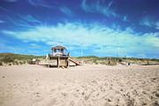 Beach Guard - Sylt Print by Hannes Cmarits