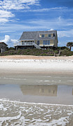 Beach House Print by Kay Pickens