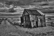 Jason Photo Acrylic Prints - Beach Hut Acrylic Print by Jason Green