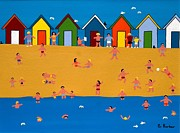 Gordon  Barker - Beach huts