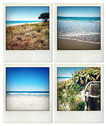 Seashore Metal Prints - Beach memories Metal Print by Les Cunliffe