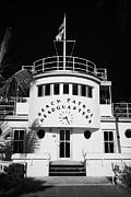 Historic Florida Framed Prints - Beach Patrol Headquarters In Art Deco District Of Miami South Beach Florida Usa Framed Print by Joe Fox