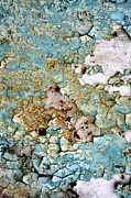 Seafoam Abstract Posters - Beach Pebbles Poster by Dorothy Menera