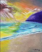 Thomas J Herring - Beach Reflection