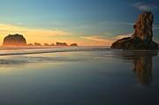 Beach Rudder Print by Adam Jewell