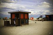 Pails Prints - Beach Scene - Miami Beach - Florida Print by Madeline Ellis