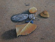 Pamela Clements - Beach Still Life III