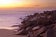Brian Carr-rollitt Prints - Beach sunrise Print by Brian Kenneth