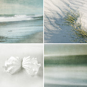 Photo Collage Prints - Beach Time Print by Linde Townsend