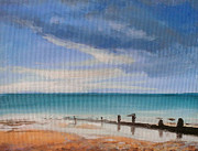Paul Mitchell Art - Beach View 1 by Paul Mitchell