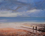 Paul Mitchell Art - Beach View 2 by Paul Mitchell