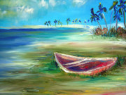 Patricia Taylor Framed Prints - Beached Framed Print by Patricia Taylor
