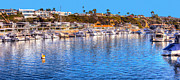 Balboa Island Framed Prints - Beacon Bay - South Framed Print by Jim Carrell