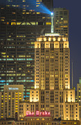 Westin Prints - Beacon of Light Print by Donald Schwartz