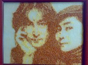 Lennon Sculptures - Bead-art by Sargis Mkrtchyan