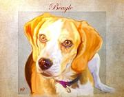 Beagle Art Print by Iain McDonald