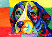 Beagle Print by Sherry Shipley
