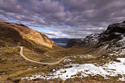 Wester Ross Prints - Bealach na Ba Print by Karl Normington