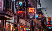 Beale Photos - Beale Street HDR 2 by James Richardson