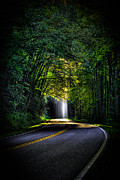 Great Smokey Mountains Prints - Beam Me Up Print by Reid Callaway