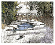 Sonny Perschbacher - Bear Creek - Watercolor