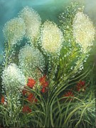 Gloria S Schloss - Bear grass and Indian...