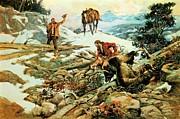 Reproduction - Bear Hunters