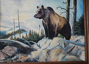Anne-Elizabeth Whiteway - Bear on Snowy Mountain
