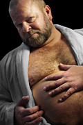Chest Photos - Bear Robe by Bear Pictureart