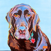 Custom Pet Paintings - Bear by Sarah Gayle Carter