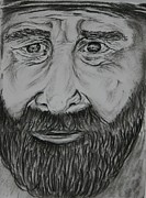 Paul Morgan Metal Prints - Bearded Man Metal Print by Paul Morgan