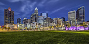 Chris Austin Framed Prints - Bearden Park Framed Print by Chris Austin